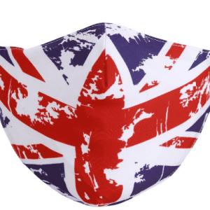 UK Flag face mask
